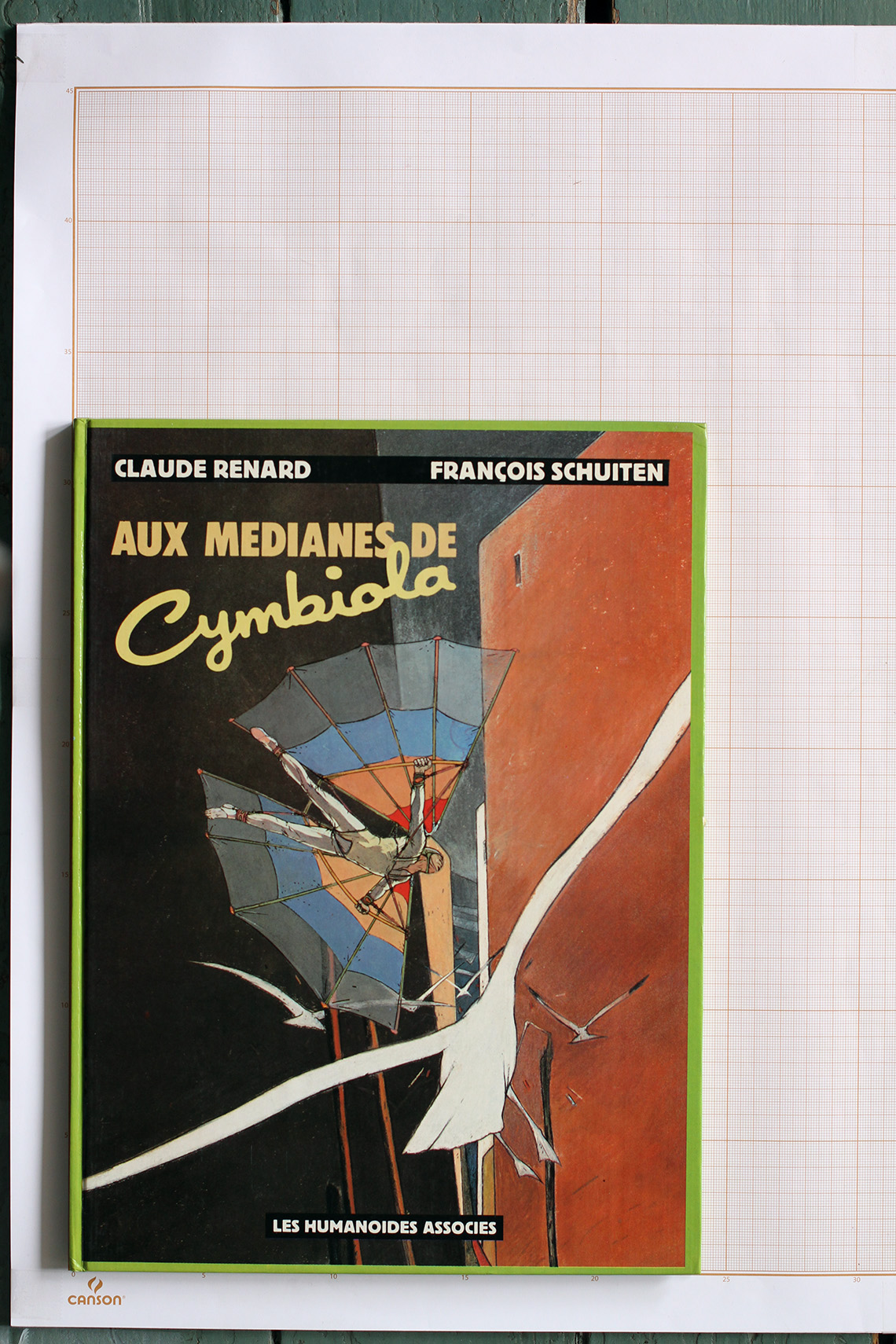 Aux Médianes de Cymbiola, F.Schuiten & C.Renard - Humanoïdes Associés© Maison Autrique, 1980