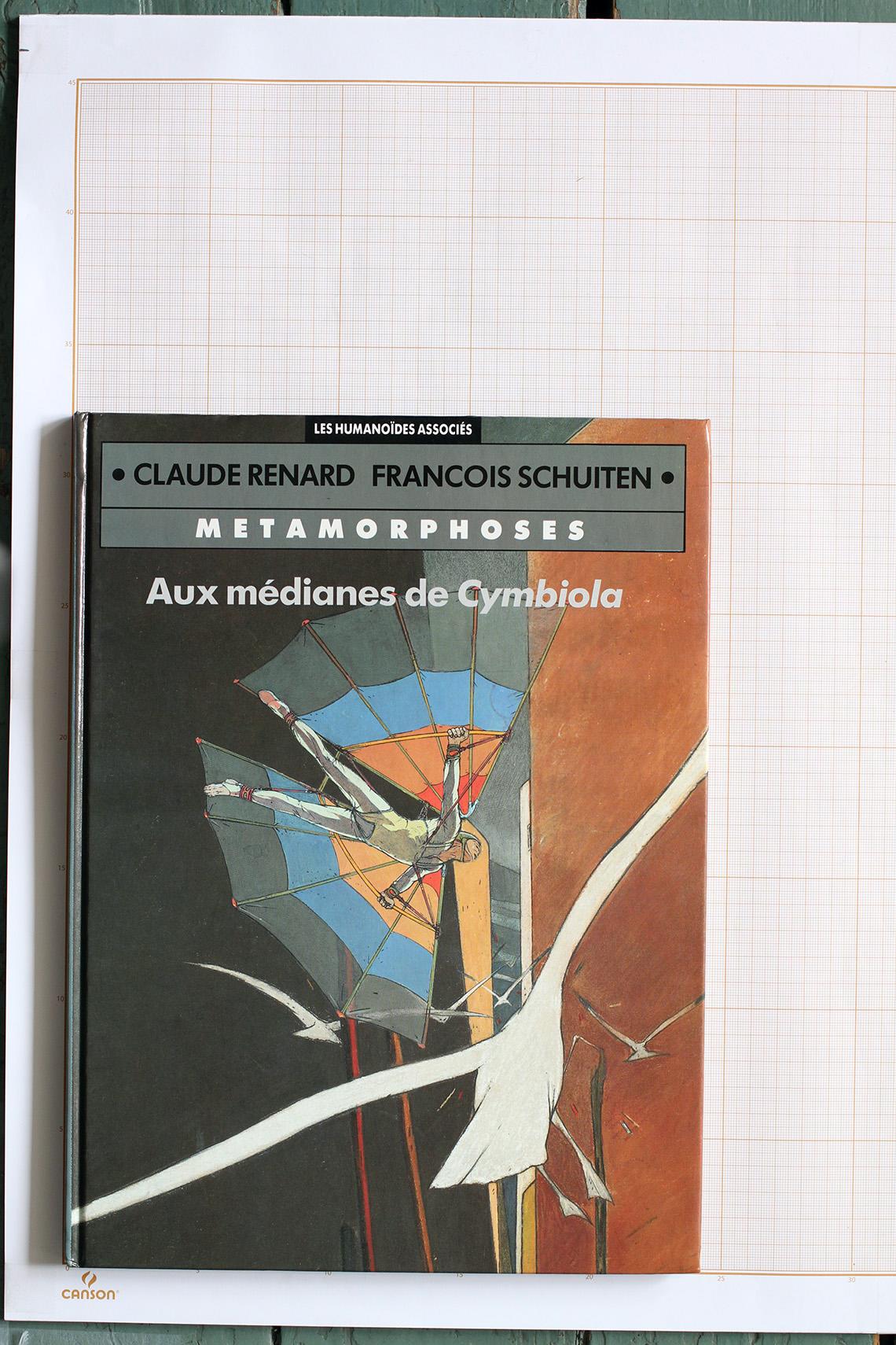 Aux Médianes de Cymbiola, F.Schuiten & C.Renard - Humanoïdes Associés© Maison Autrique, 1989