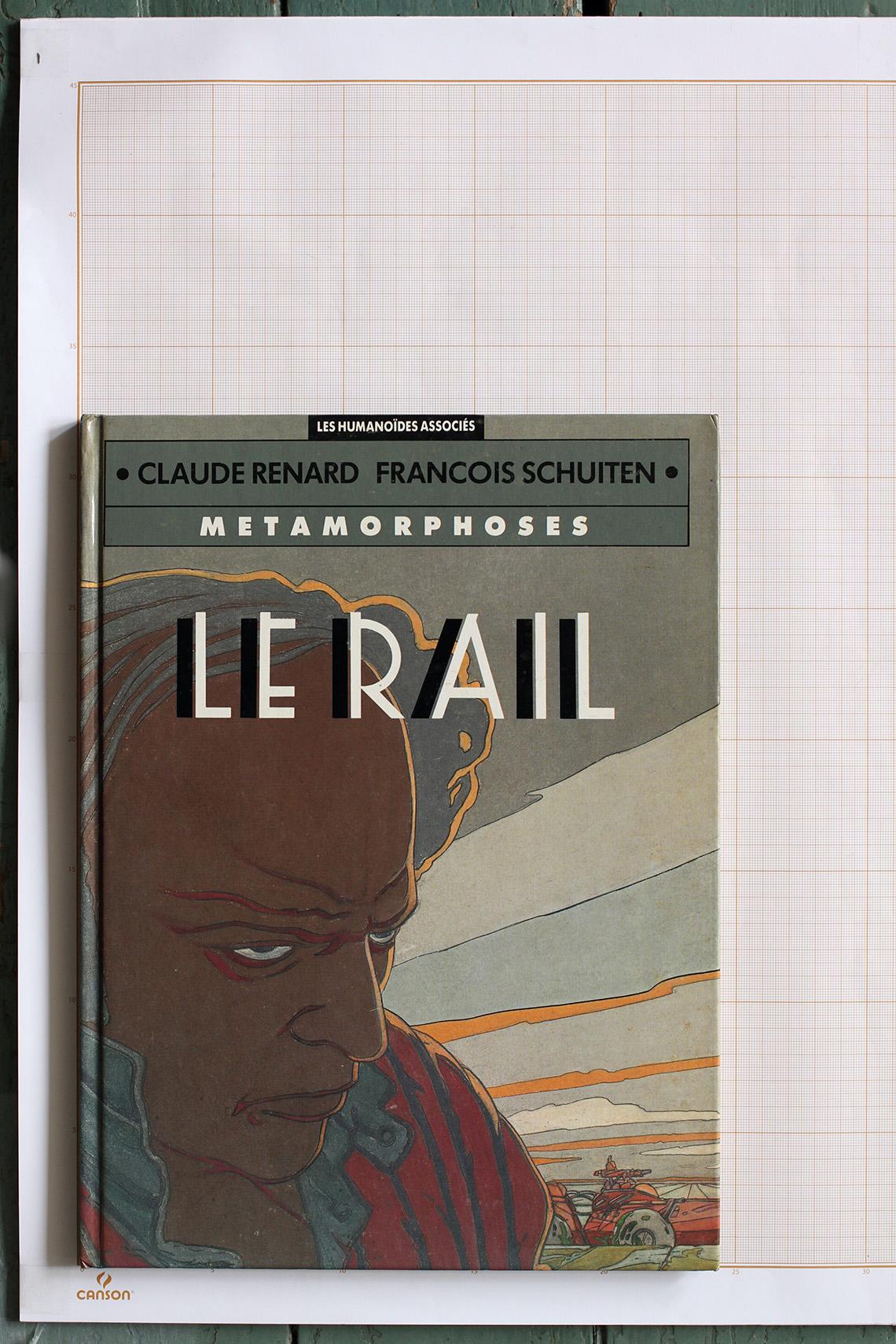 Le Rail, F.Schuiten & C.Renard - Humanoïdes Associés© Maison Autrique, 1991