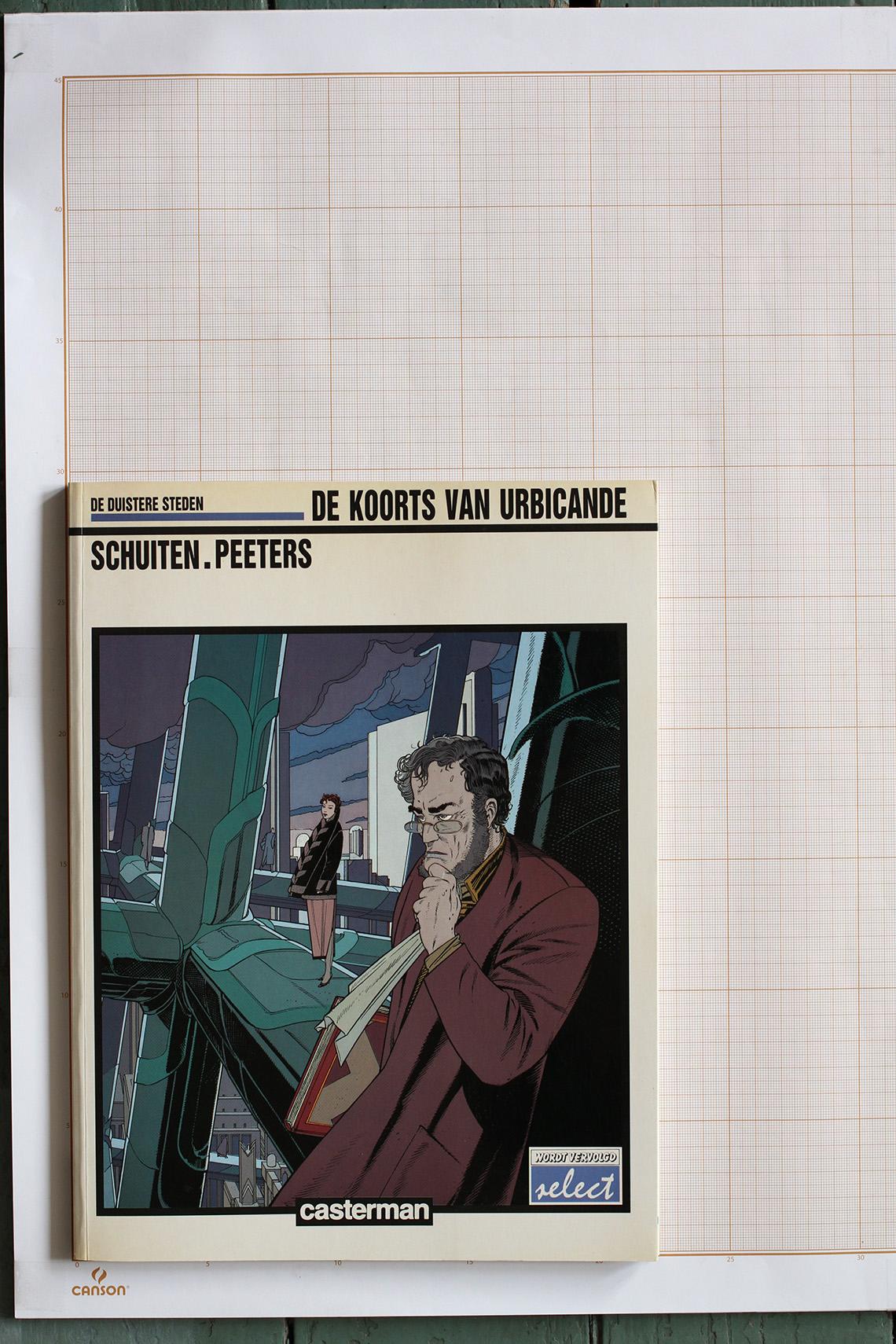La Fièvre d'Urbicande, F.Schuiten & B.Peeters - Casterman© Maison Autrique, 1988