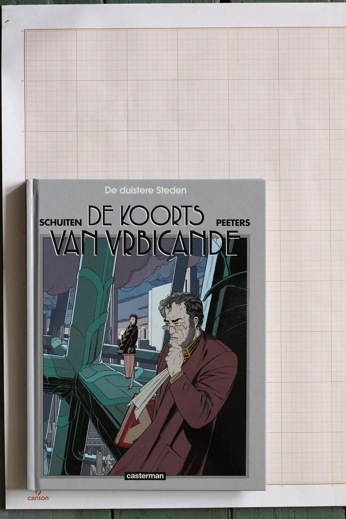 La Fièvre d'Urbicande, F.Schuiten & B.Peeters - Casterman© Maison Autrique, 2000