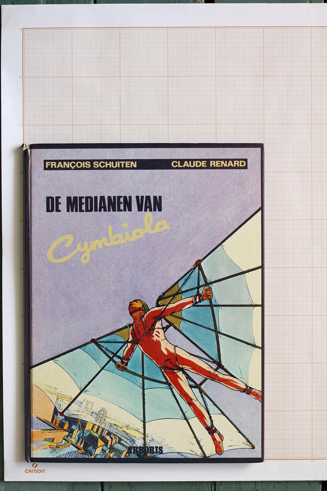 Les Médianes de Cymbiola, F.Schuiten & C.Renard - Arboris© Maison Autrique, 1982
