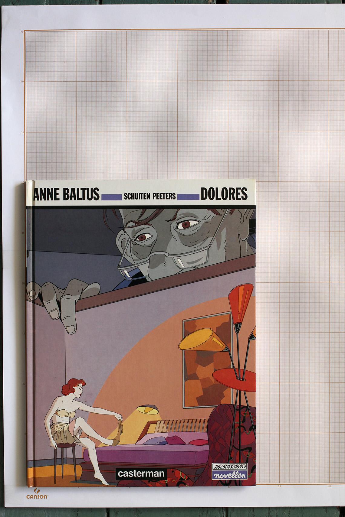 Dolores, A. Baltus, F.Schuiten & B.Peeters - Casterman© Autrique Huis, 1991