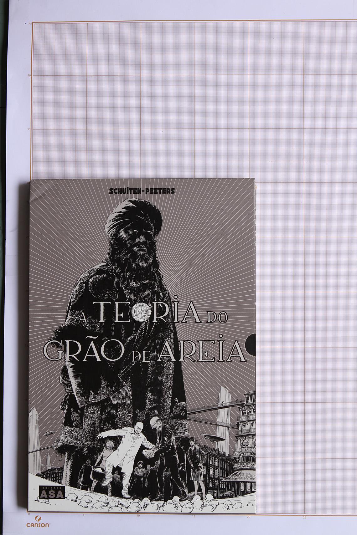 A Teoria do grão de areia 1, F.Schuiten & B.Peeters - Edições ASA© Maison Autrique, 2009