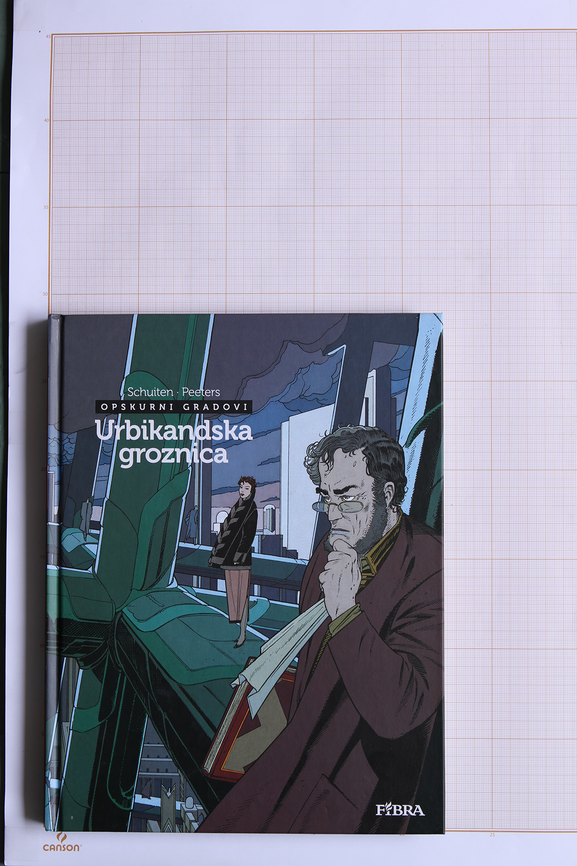 Urbikandska groznica, F.Schuiten & B.Peeters - Fibra© Maison Autrique, 2011