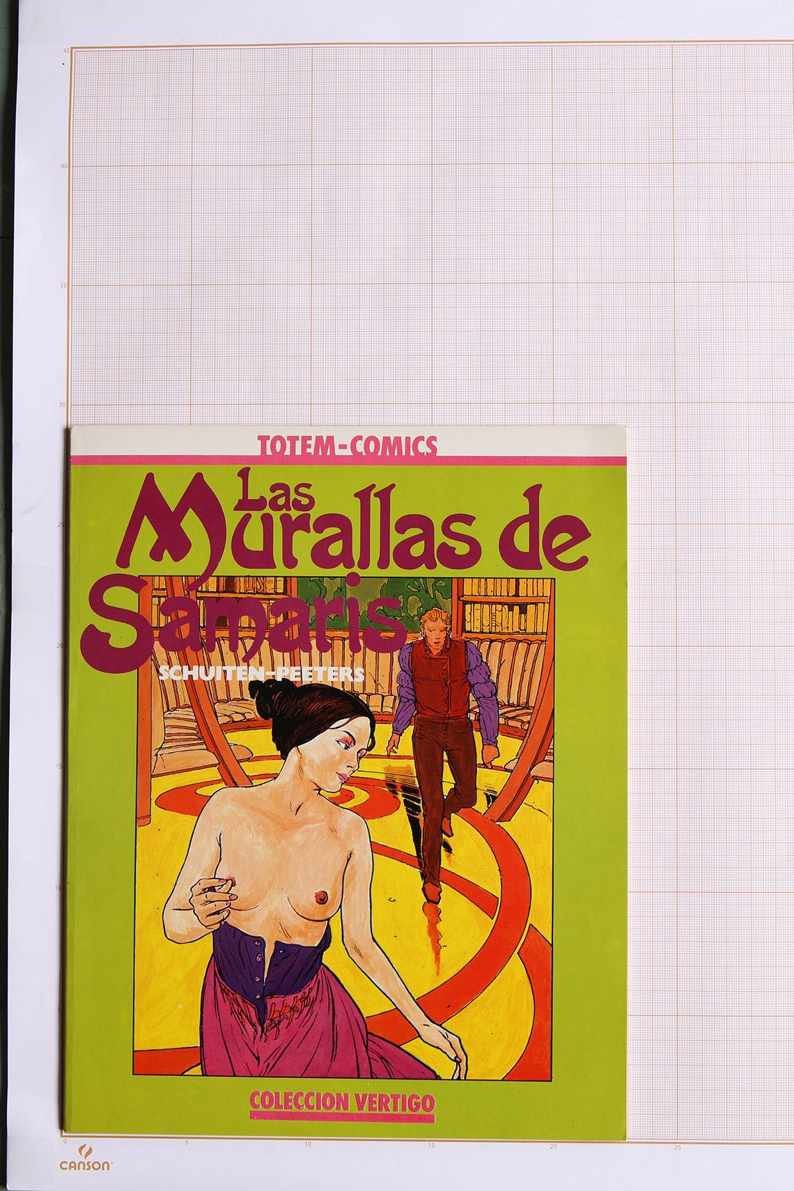Las Murallas de Samaris, F.Schuiten & B.Peeters - Nueva Frontera© Maison Autrique, 1983