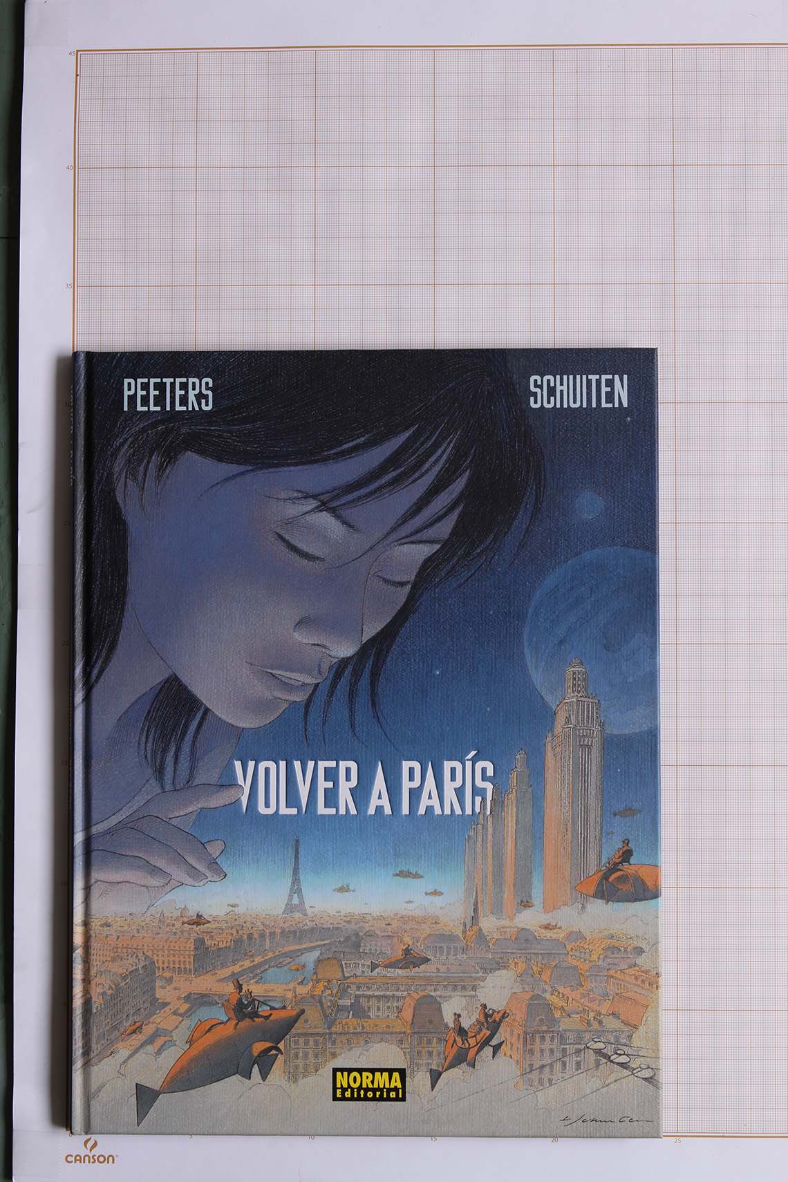 Volver a París 1, F.Schuiten & B.Peeters - Norma Editorial© Maison Autrique, 2015