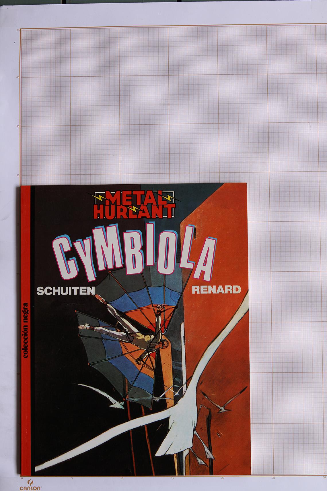 Cymbiola, F.Schuiten & C.Renard - Eurocomic© Maison Autrique, 1984