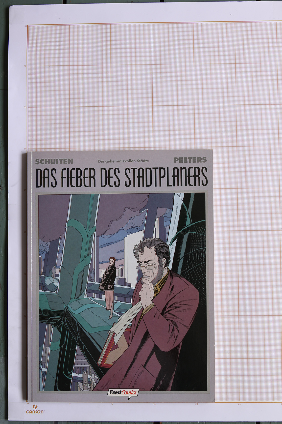 Das Fieber des Stadplaners, F.Schuiten & B.Peeters - Feest Comics© Maison Autrique, 1995