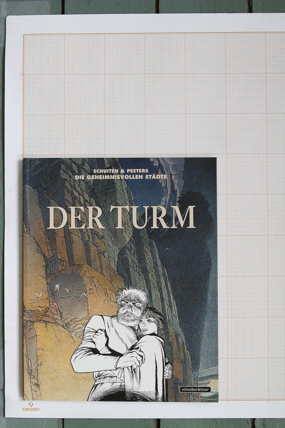 Der Turm, F.Schuiten & B.Peeters - Schreiber&Leser© Maison Autrique, 2014