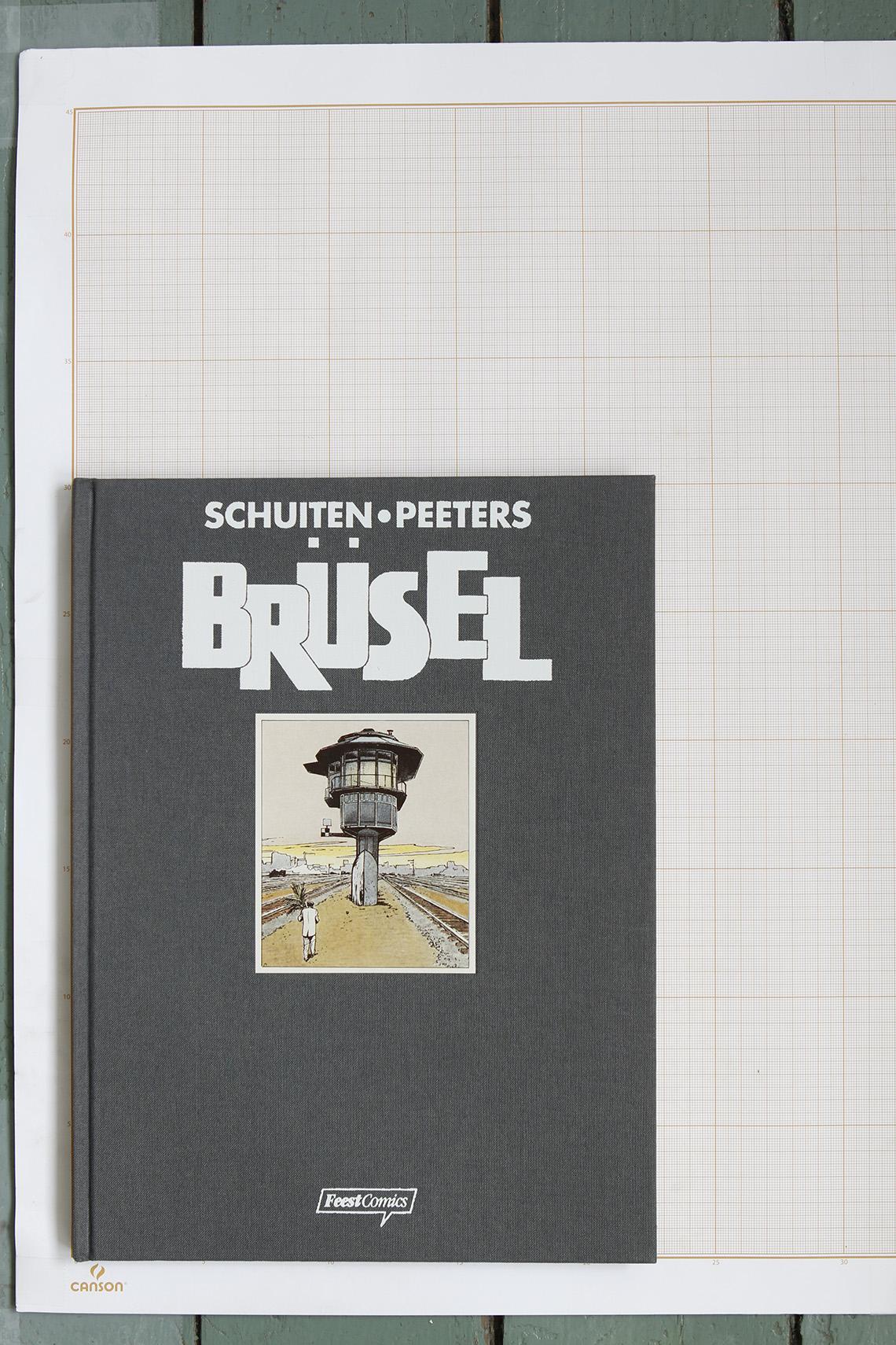 Brüsel, F.Schuiten & B.Peeters - Feest Comics© Maison Autrique, 1993
