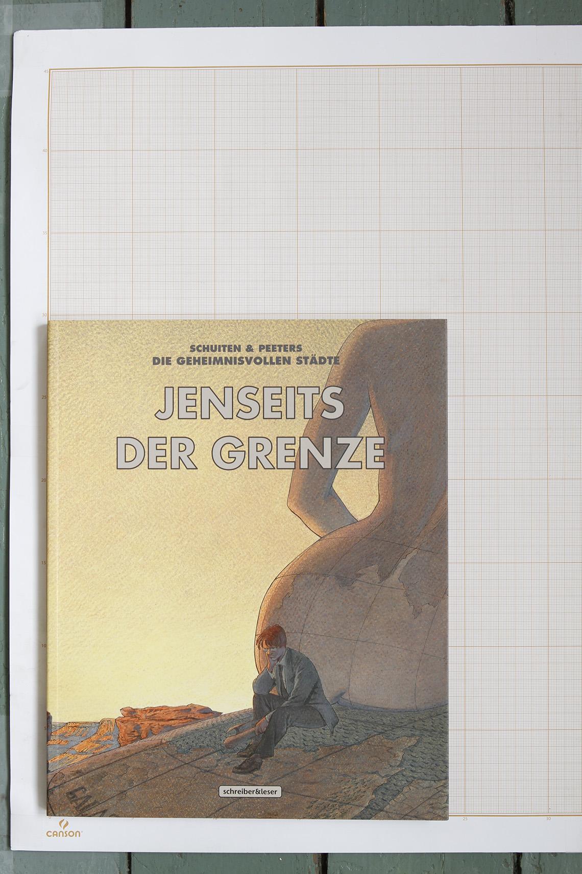 Jenseits der Grenze, F.Schuiten & B.Peeters - Schreiber & Leser© Maison Autrique, 2012