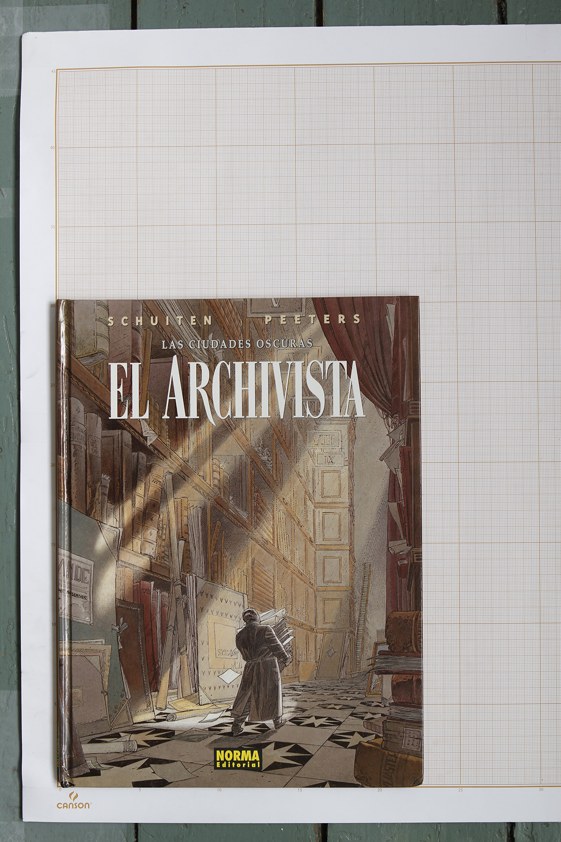 El Archivista, F.Schuiten & B.Peeters - Norma Editorial© Maison Autrique, 2001