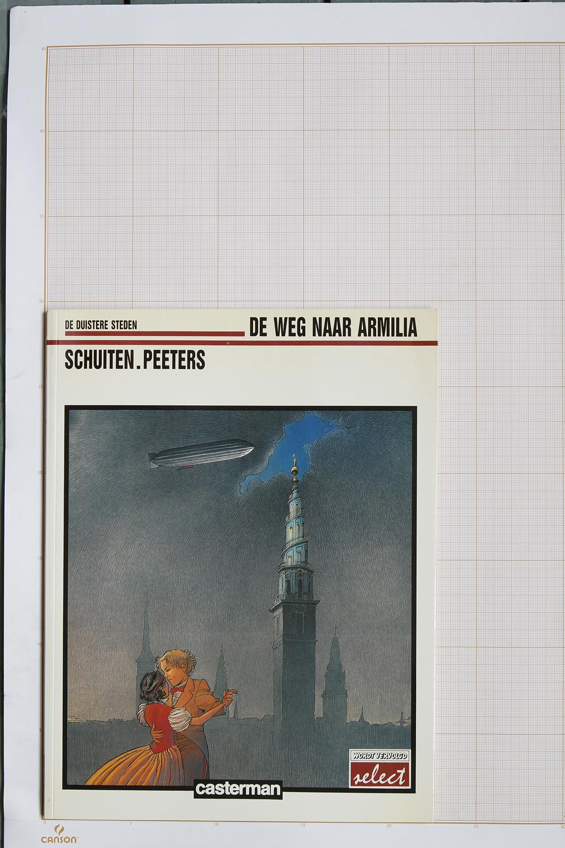 La Route d'Armilia, F.Schuiten & B.Peeters - Casterman© Maison Autrique, 1988