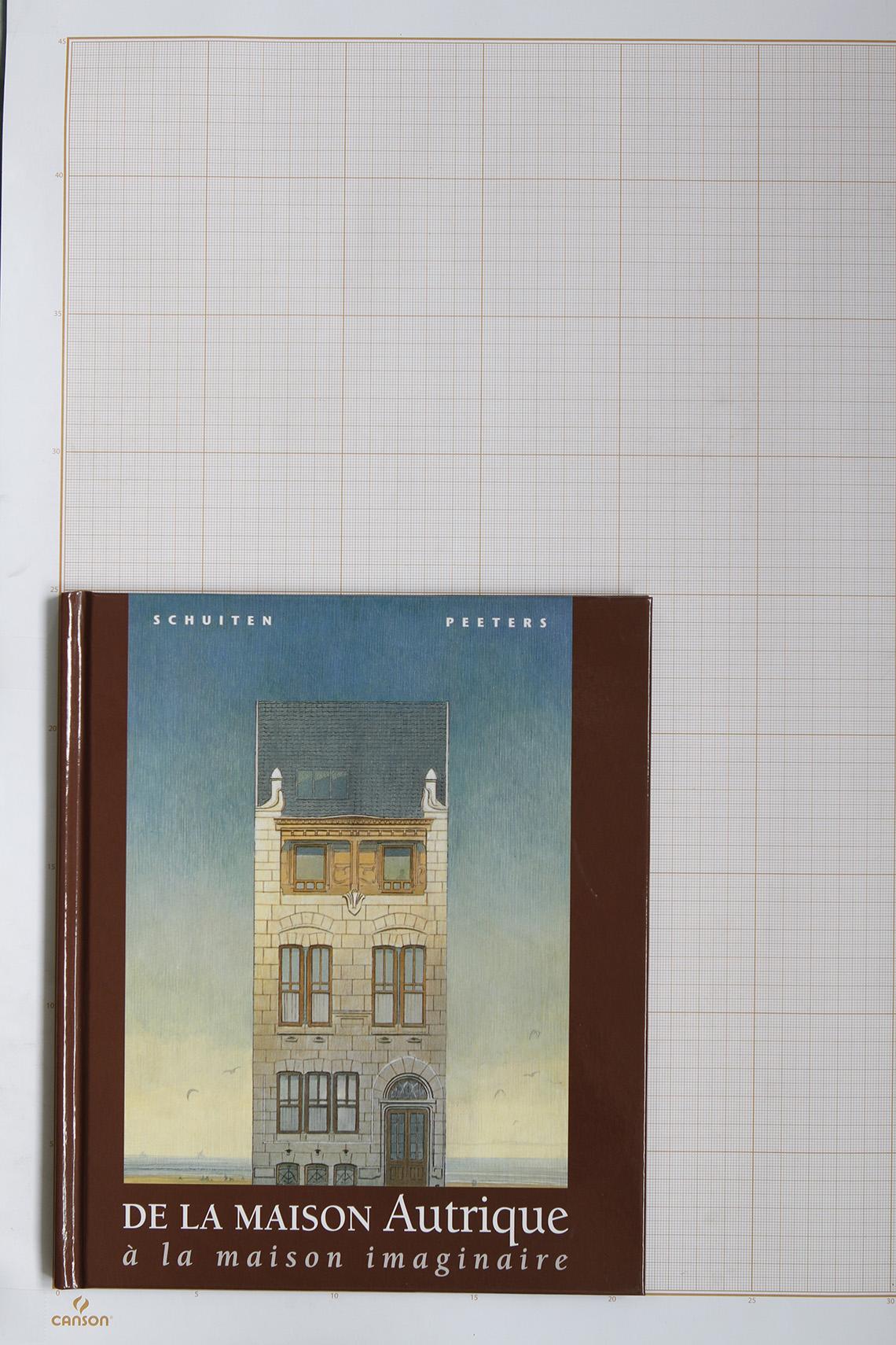De la Maison Autrique à la maison imaginaire, F.Schuiten & B.Peeters - Les Piérides / Schuiten Copyright© Maison Autrique, 1997