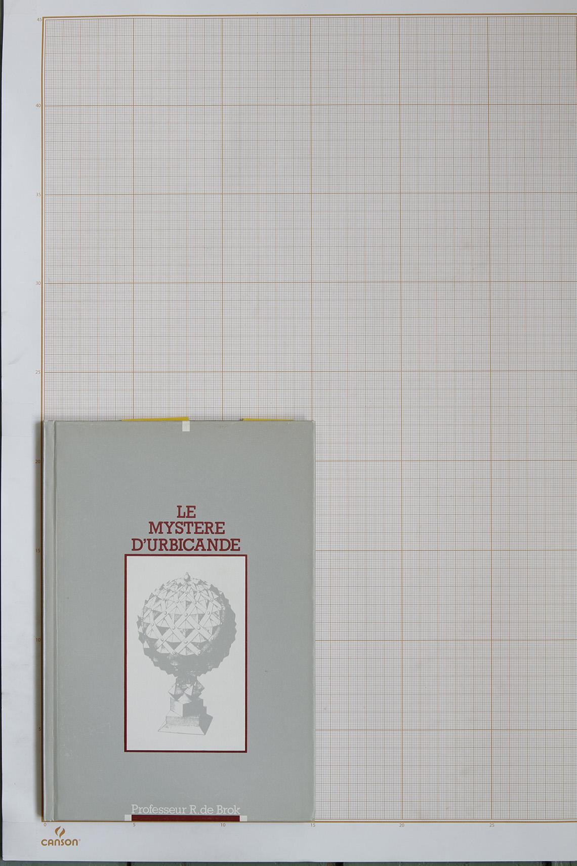 Le Mystère d'Urbicande, F.Schuiten & B.Peeters - Schlirfbook© Maison Autrique, 1985