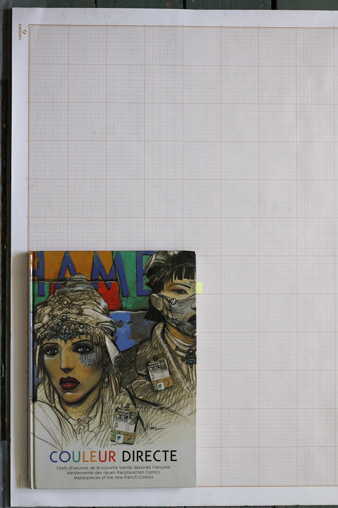 Couleur directe, D. Moulin / T. Groensteen / G. Lascault / P. Gaumer - Editions Kunst der Comics© Maison Autrique, 1993