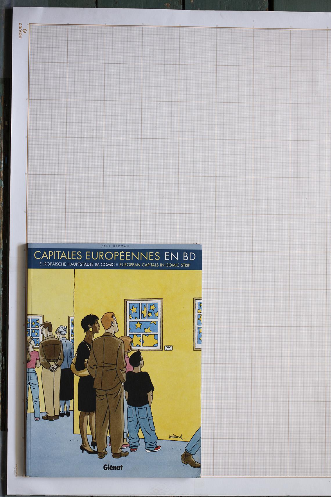 Capitales européennes en BD, P. Herman - Glénat© Maison Autrique, 2007