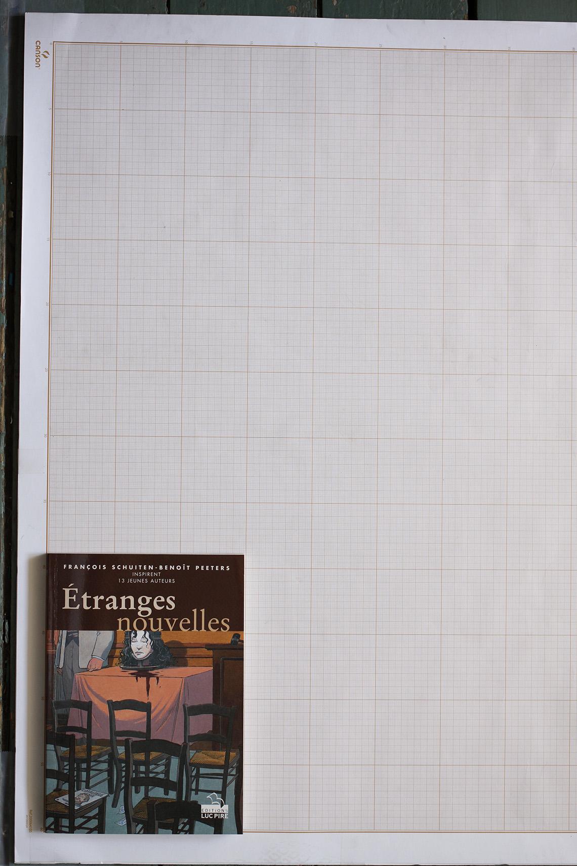 Etranges nouvelles. Françis Schuiten et Benoît Peeters inspirent 13 jeunes auteurs, Collectif - Editions Luc Pire© Maison Autrique, 1998