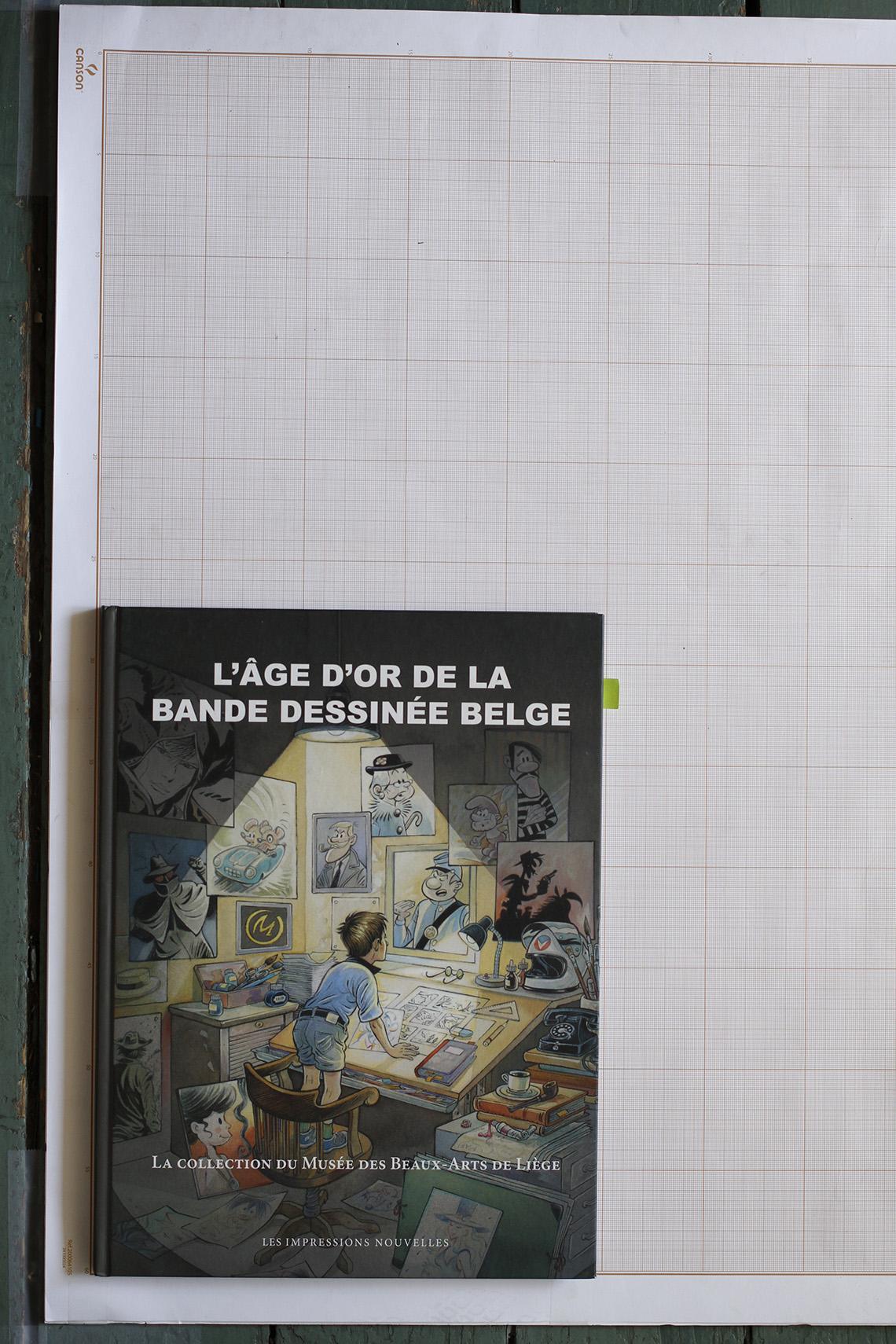 L'Âge d'or de la bande dessinée belge, T.Bellefroid (sous la dir.) - Les Impressions Nouvelles© Maison Autrique, 2015