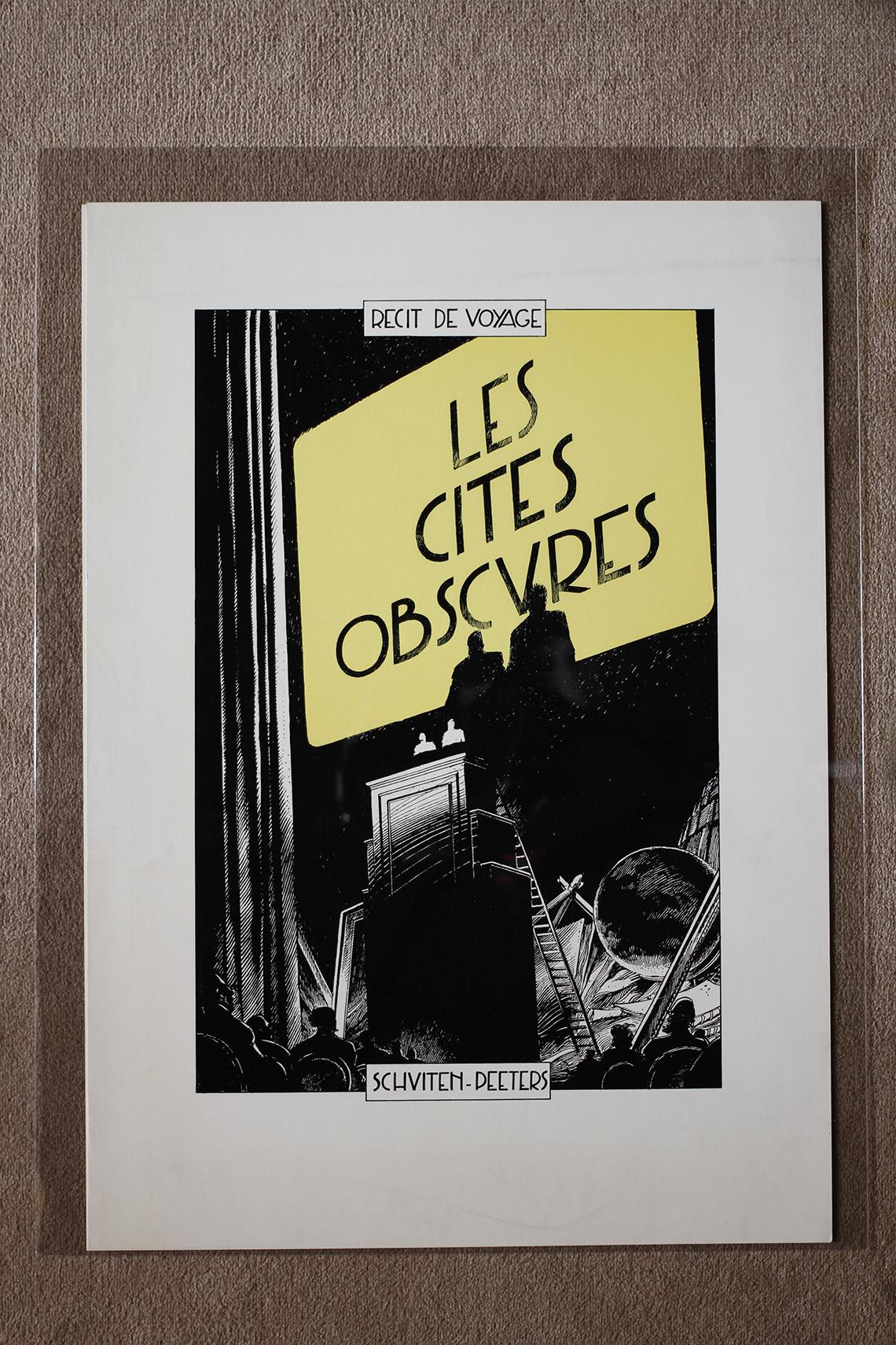 Récit de voyage. Les Cités obscures© François Schuiten, 1988