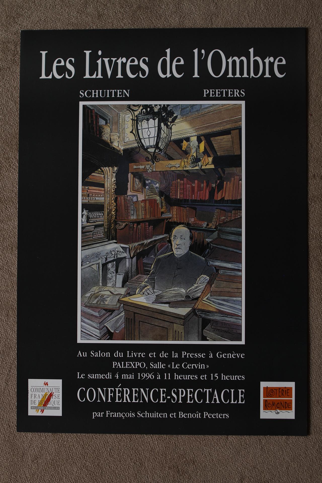 Les Livres de l'Ombre© François Schuiten, 1996