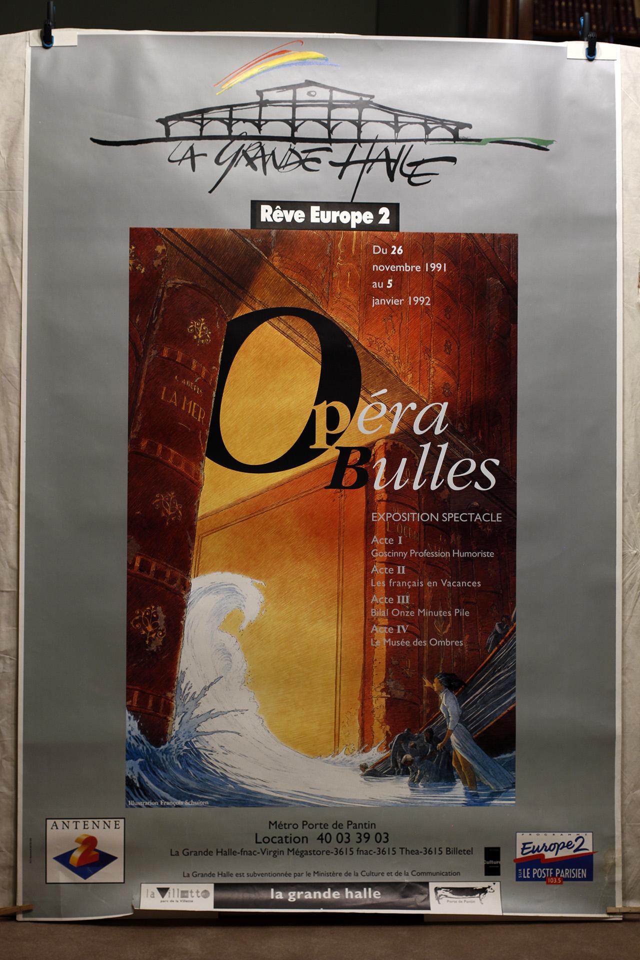 Opéra Bulles© François Schuiten, 1991