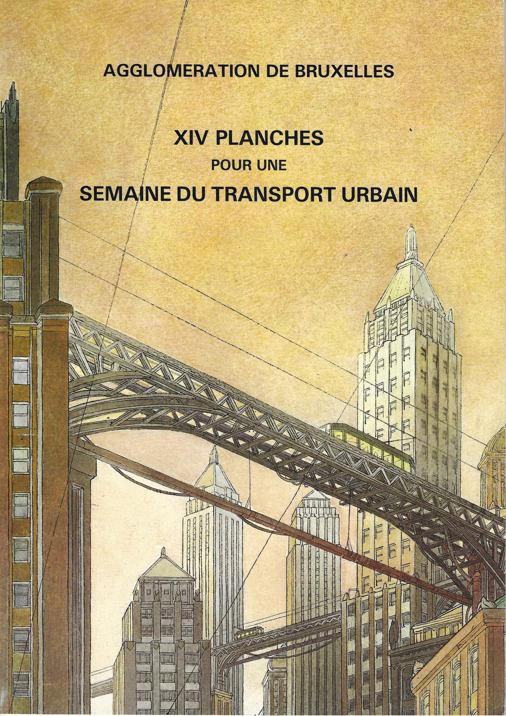 XIV Planches pour une semaine du Transport Urbain© Etienne Schréder / Olivier Grenson / Collectif, 1985