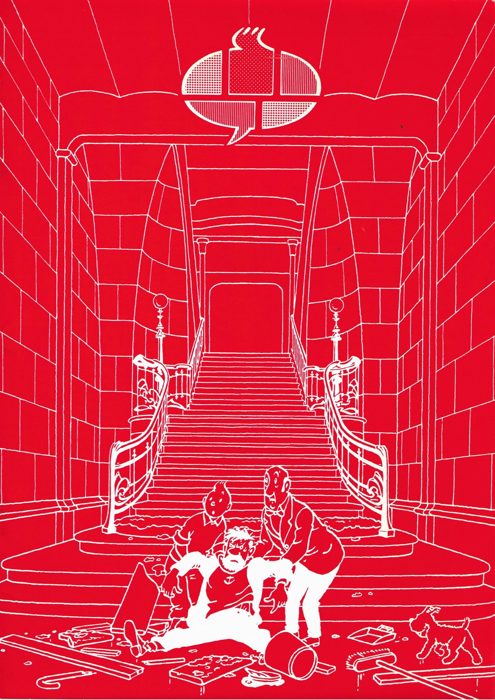 Le Neuvième Art entre dans l'Art Nouveau© François Schuiten, 1986