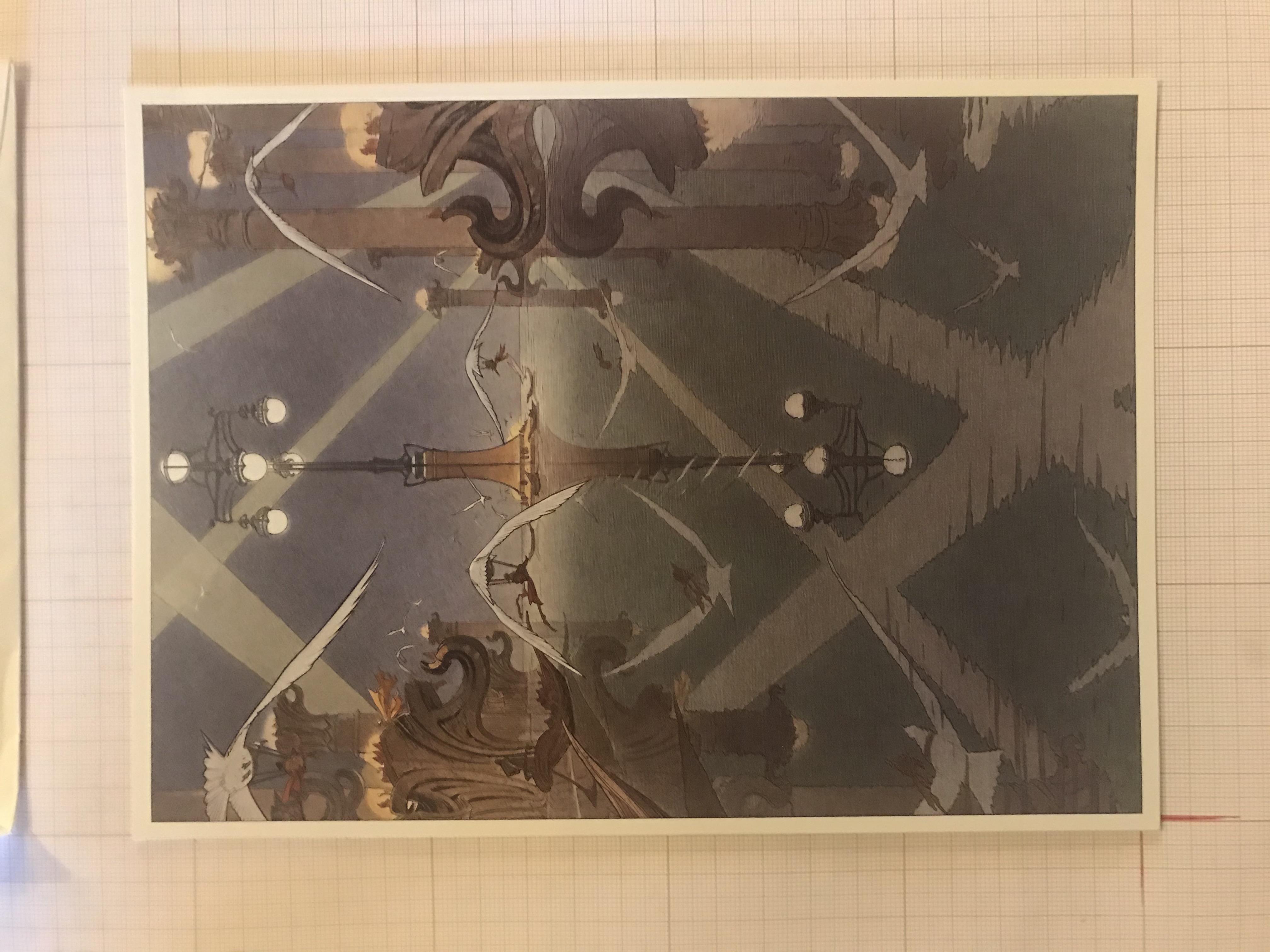Carte de voeux McKinsey & Company© François Schuiten