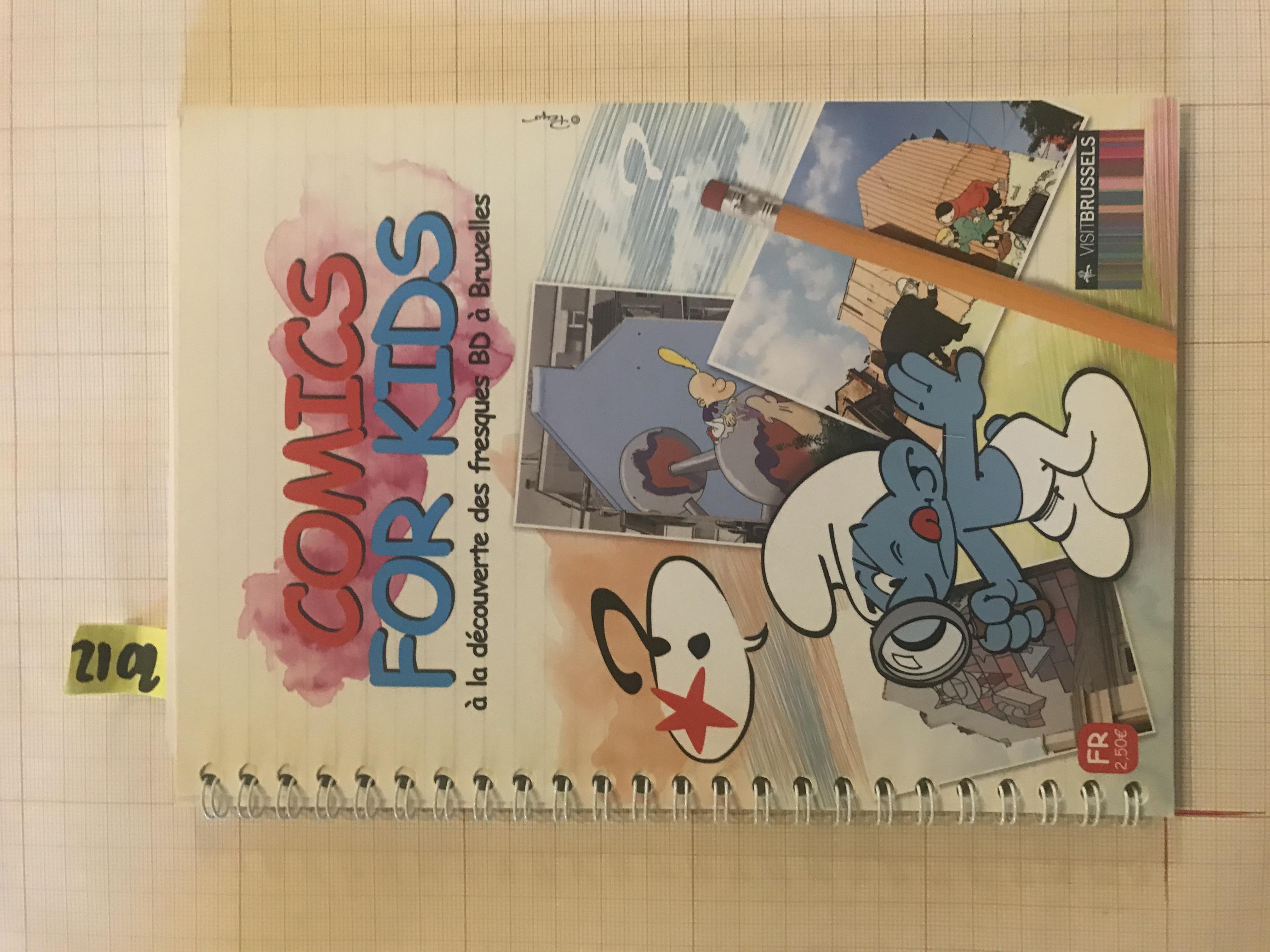 Comics for kids© François Schuiten / Visit.brussels, 2012