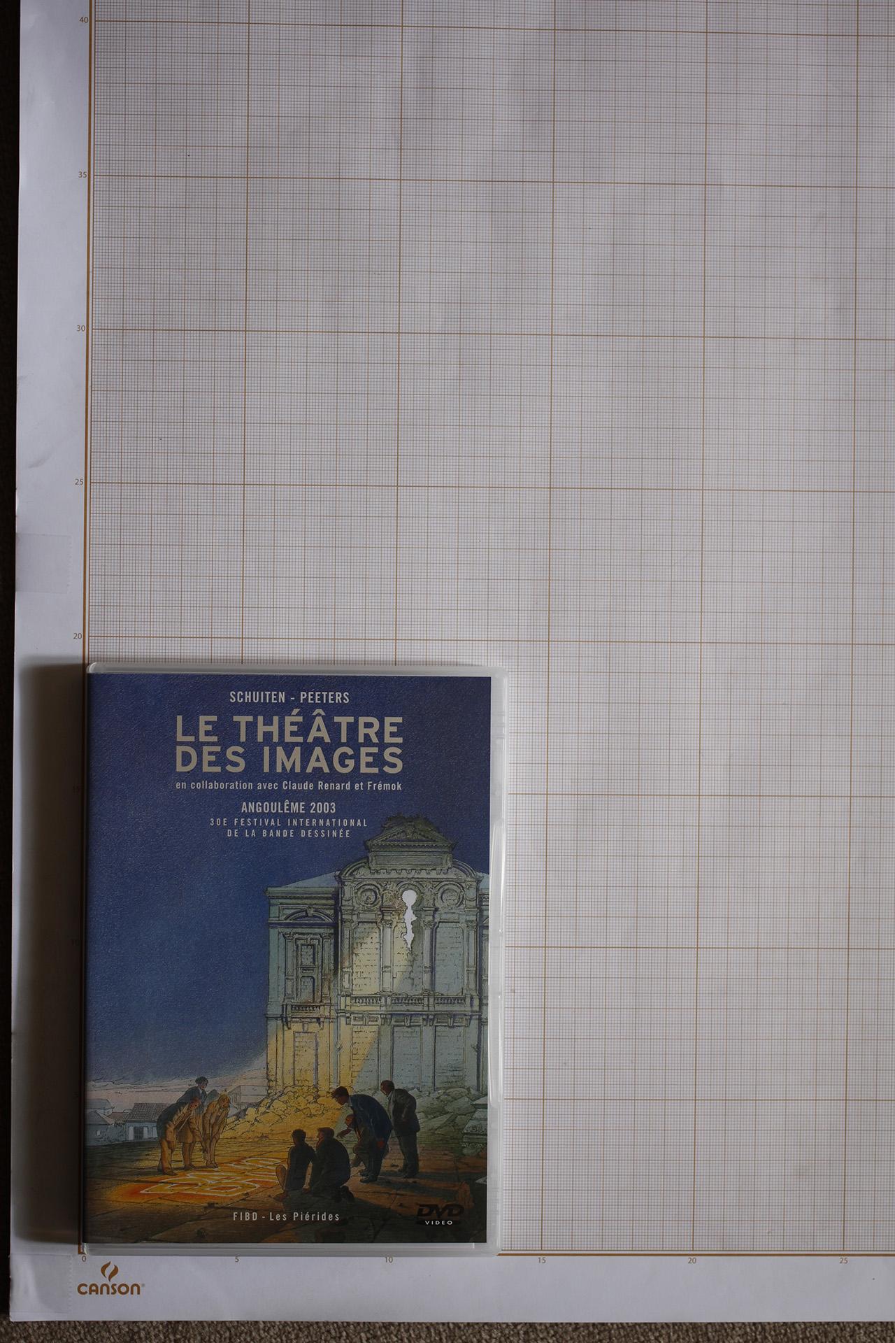 Coffret Le Théâtre des images + Un festival en images © Maison Autrique, 2003
