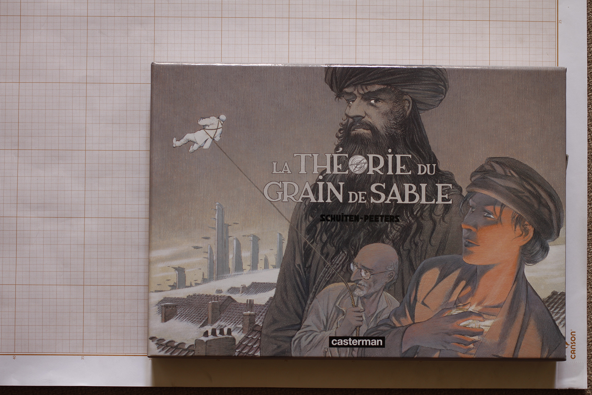 La Théorie du Grain de Sable© François Schuiten, 2008