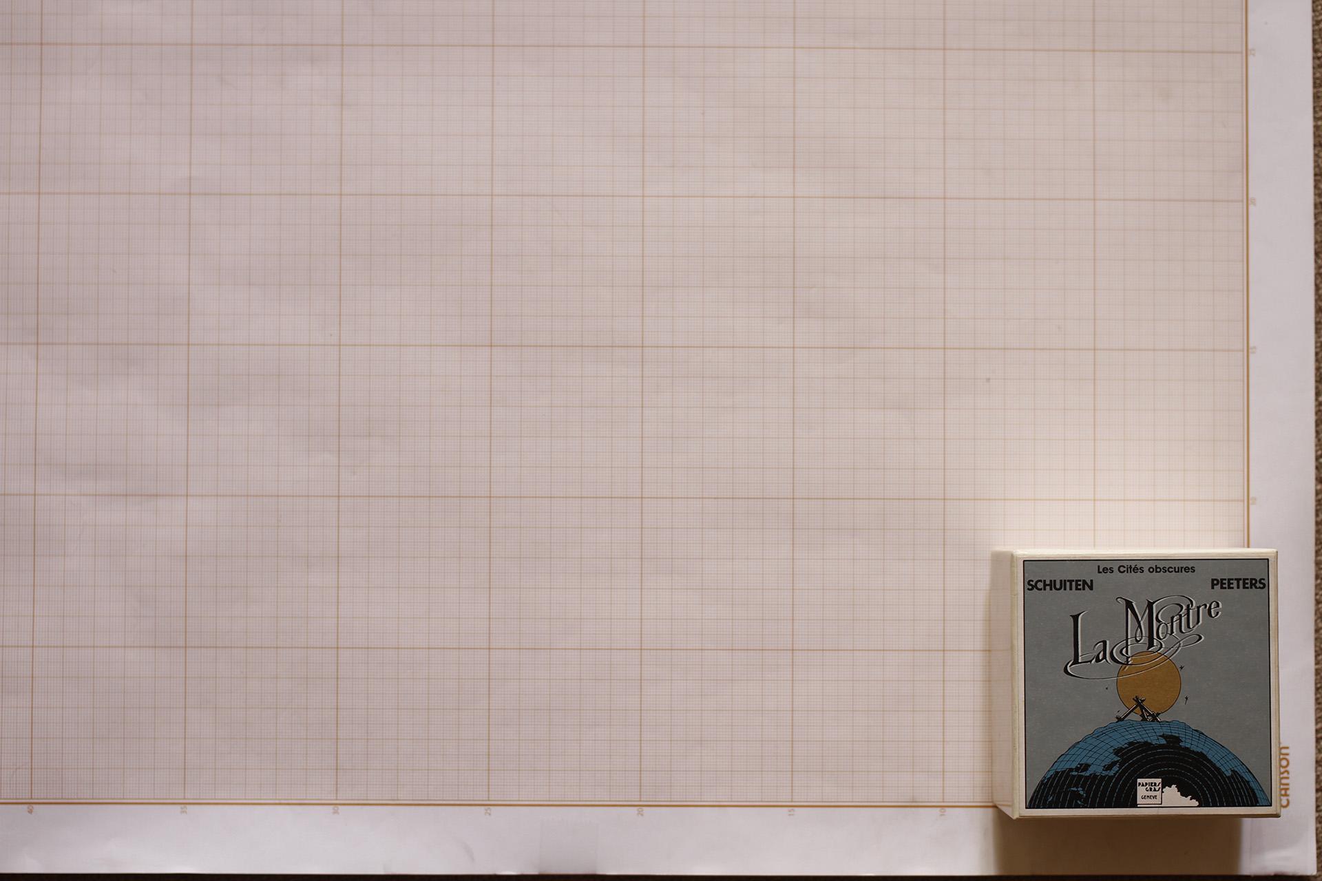 La Montre© François Schuiten / Papiers Gras, 1990