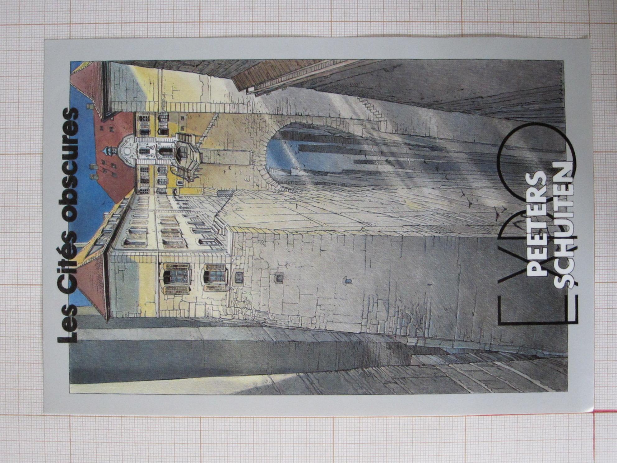 Les Cités obscures. Expo Peeters Schuiten© Maison Autrique, 1987