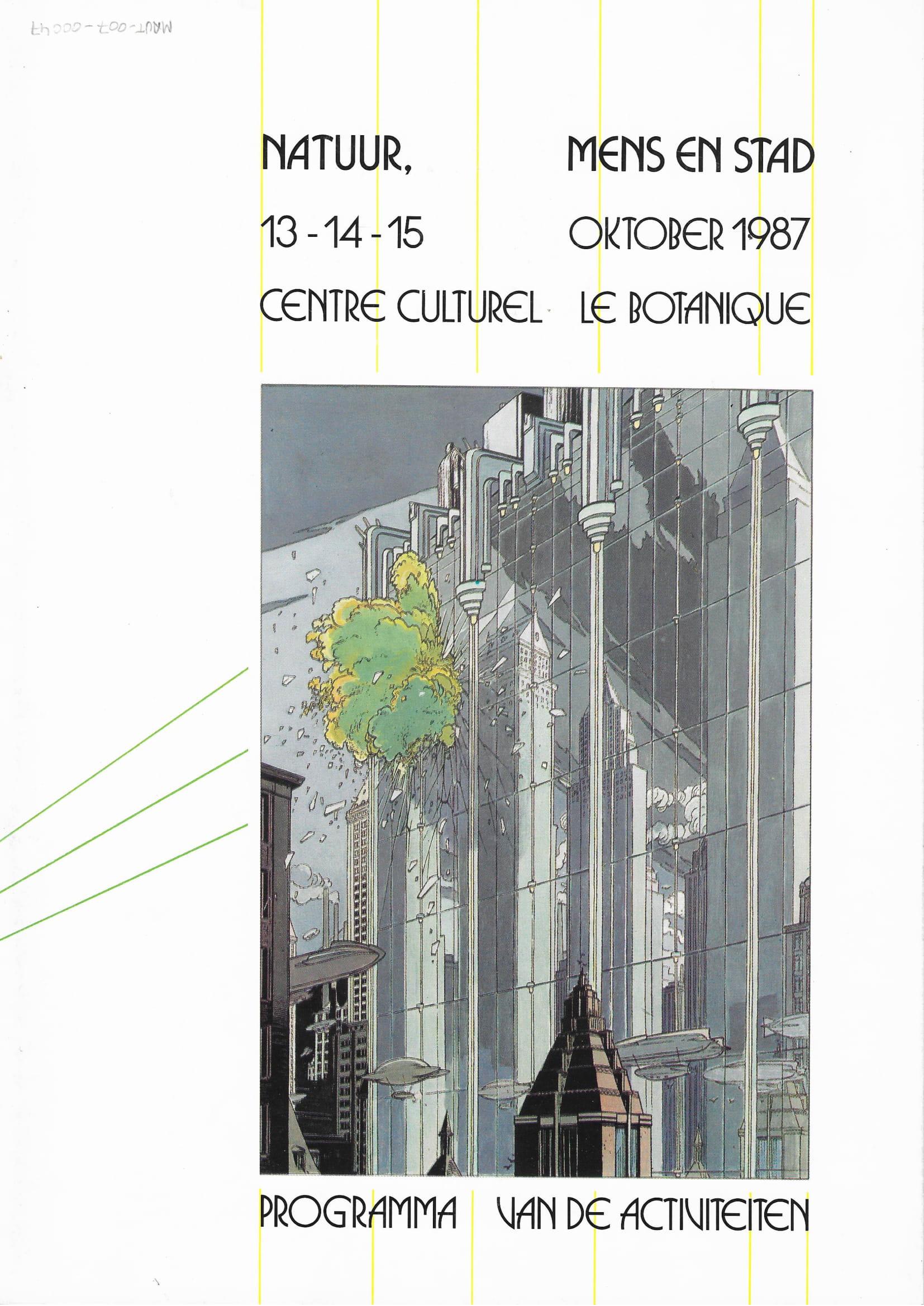 La Nature, l'Homme et la Ville© Maison Autrique, 1987