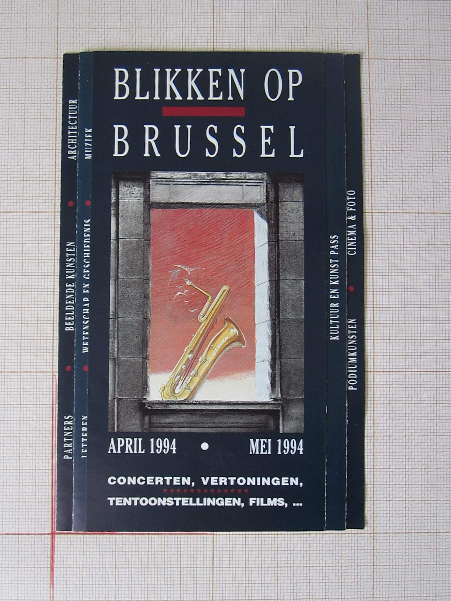 Blikken op Brussel© François Schuiten, 1994