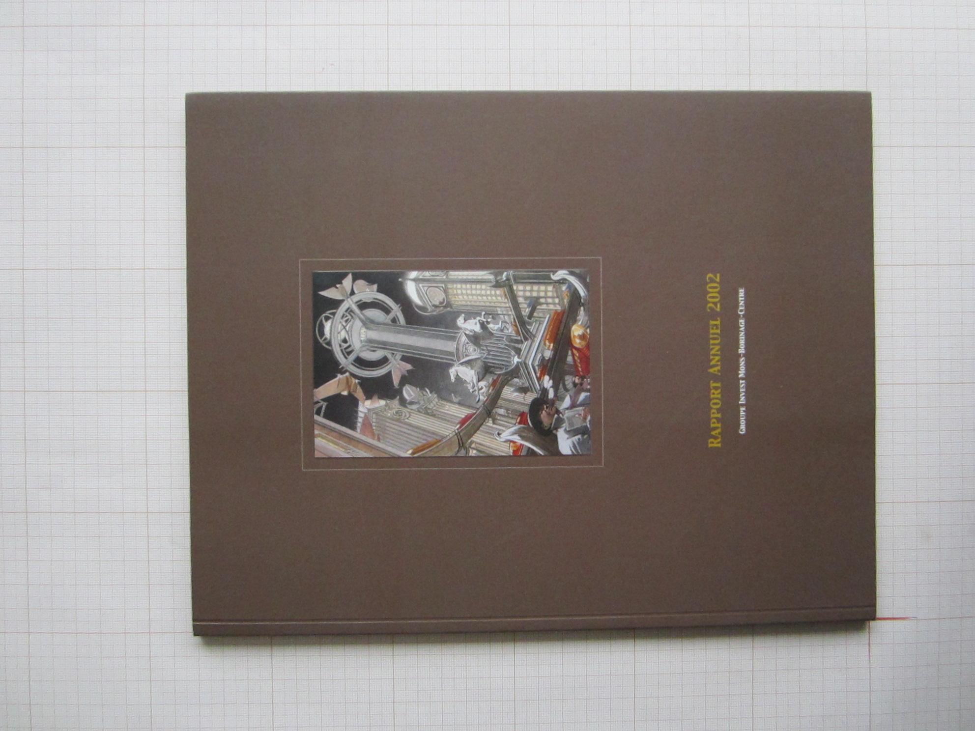 Rapport annuel 2002. Groupe Invest Mons-Borinage-Centre© François Schuiten, 2002