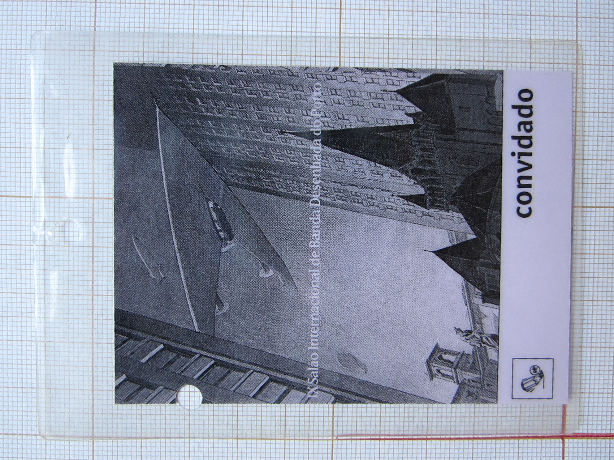 Badge IX Salao Internacional de Banda Desenhada de Porto© François Schuiten, 1994