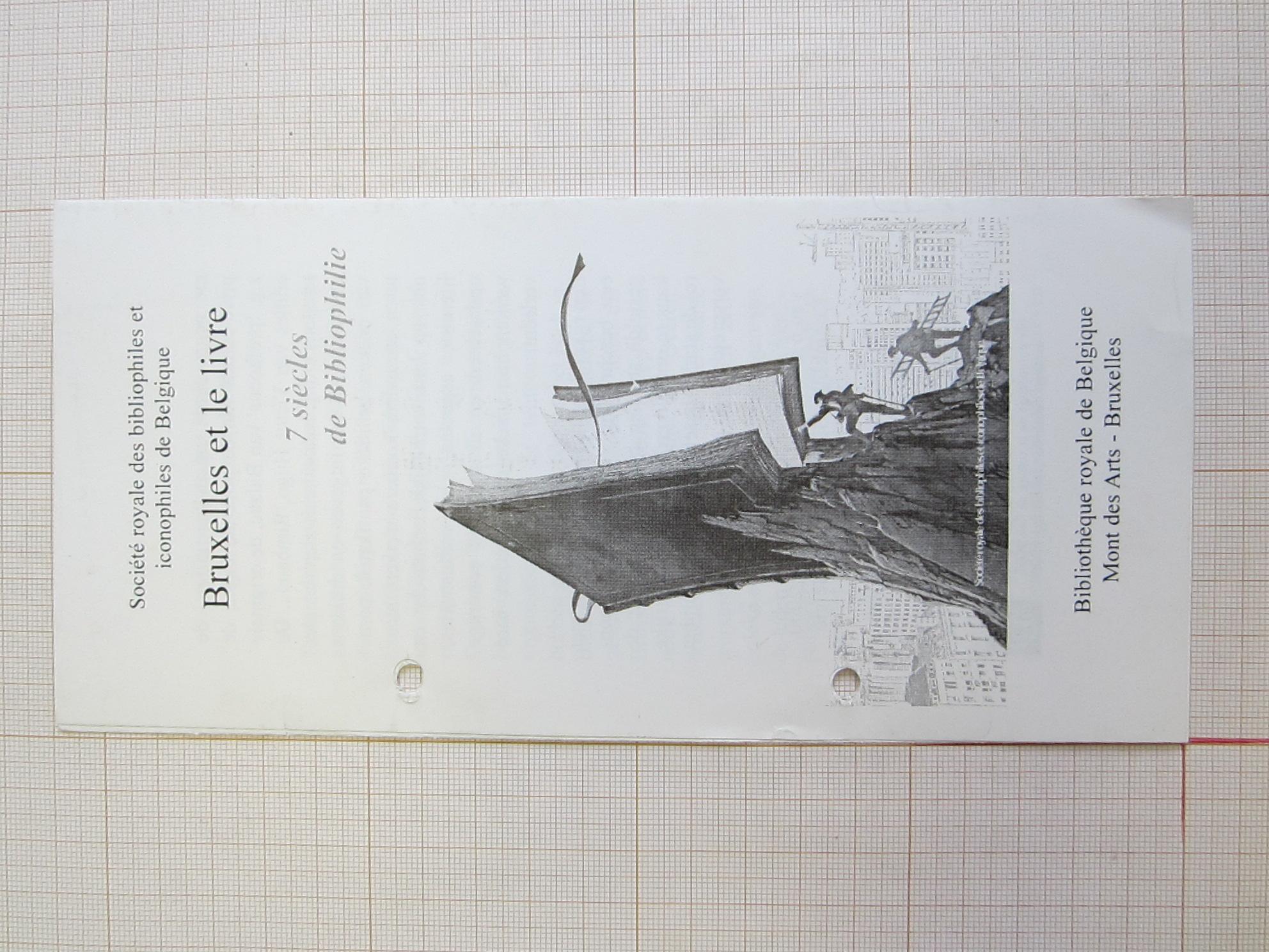 Bruxelles et le livre© François Schuiten / Société royale des bibliophiles et iconophiles de Belgique, 2000