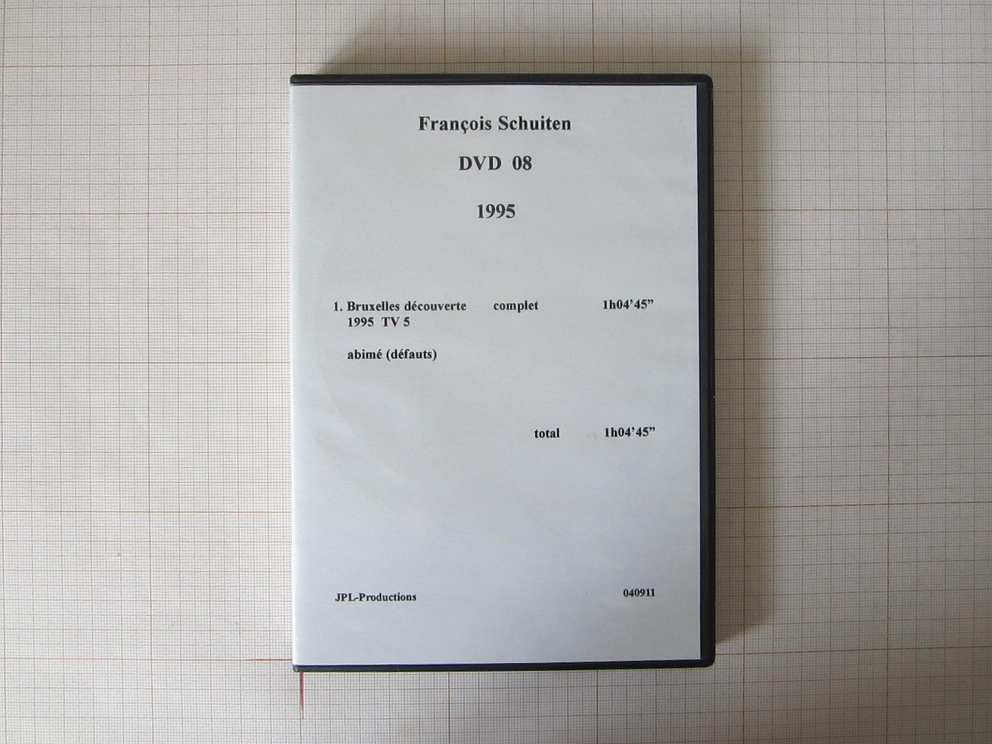François Schuiten DVD 08+09 1995 - JPL-Productions© Maison Autrique, 1995