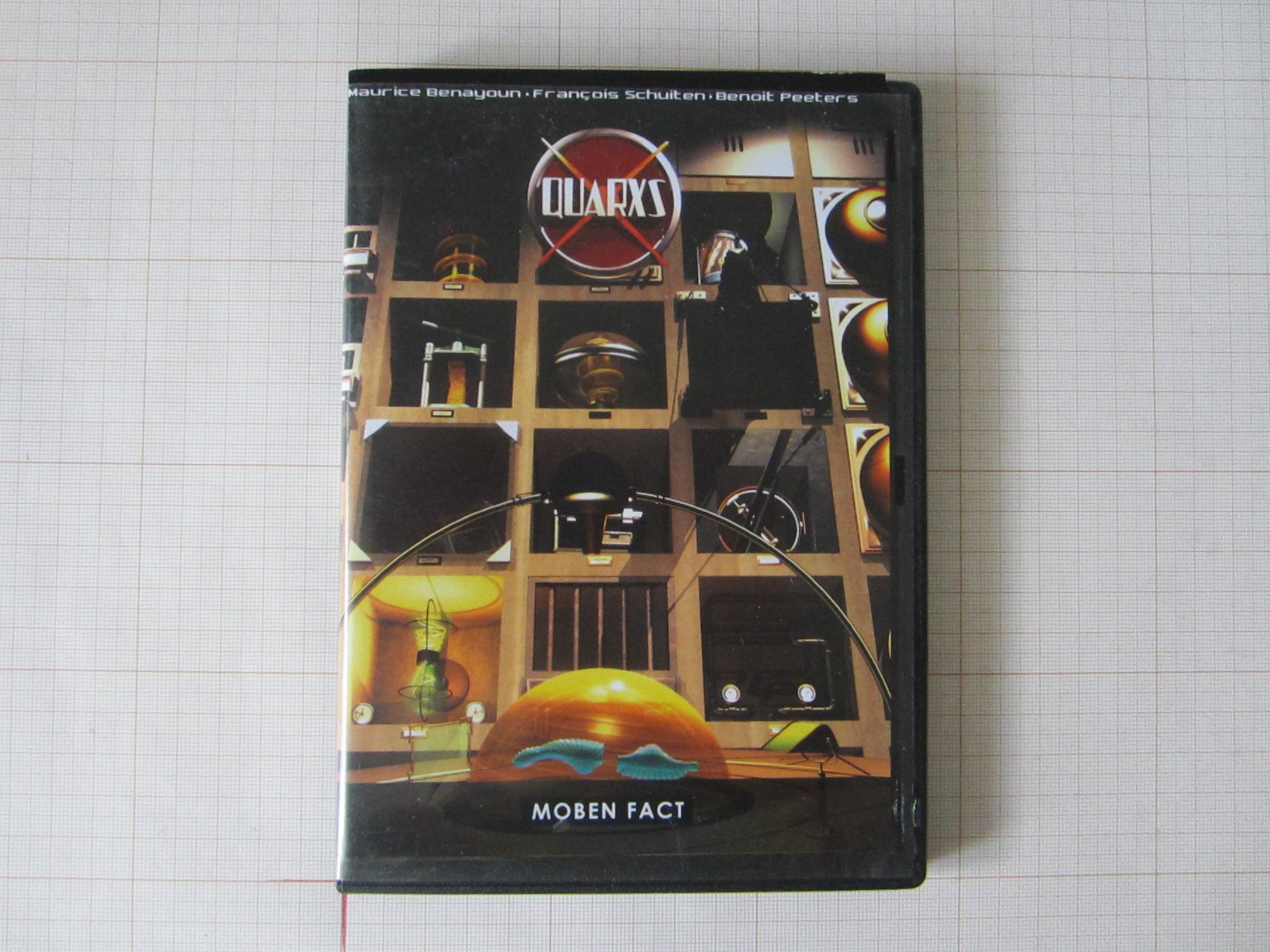 QUARXS, M. Benayoun, F.Schuiten & B.Peeters - Moben Fact© Maison Autrique, 1991