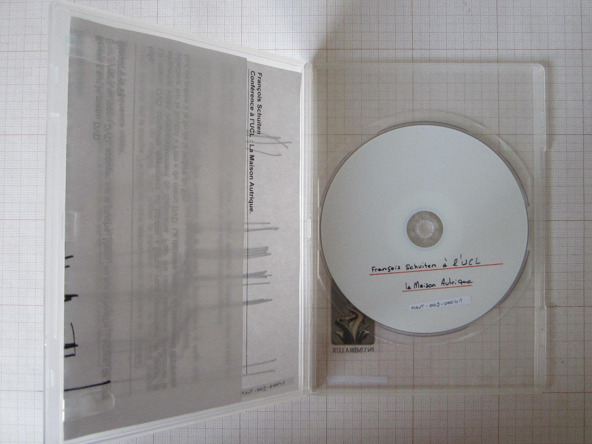 Cycle de conférences. François Schuiten à l'UCL : la Maison Autrique© Maison Autrique, 2008
