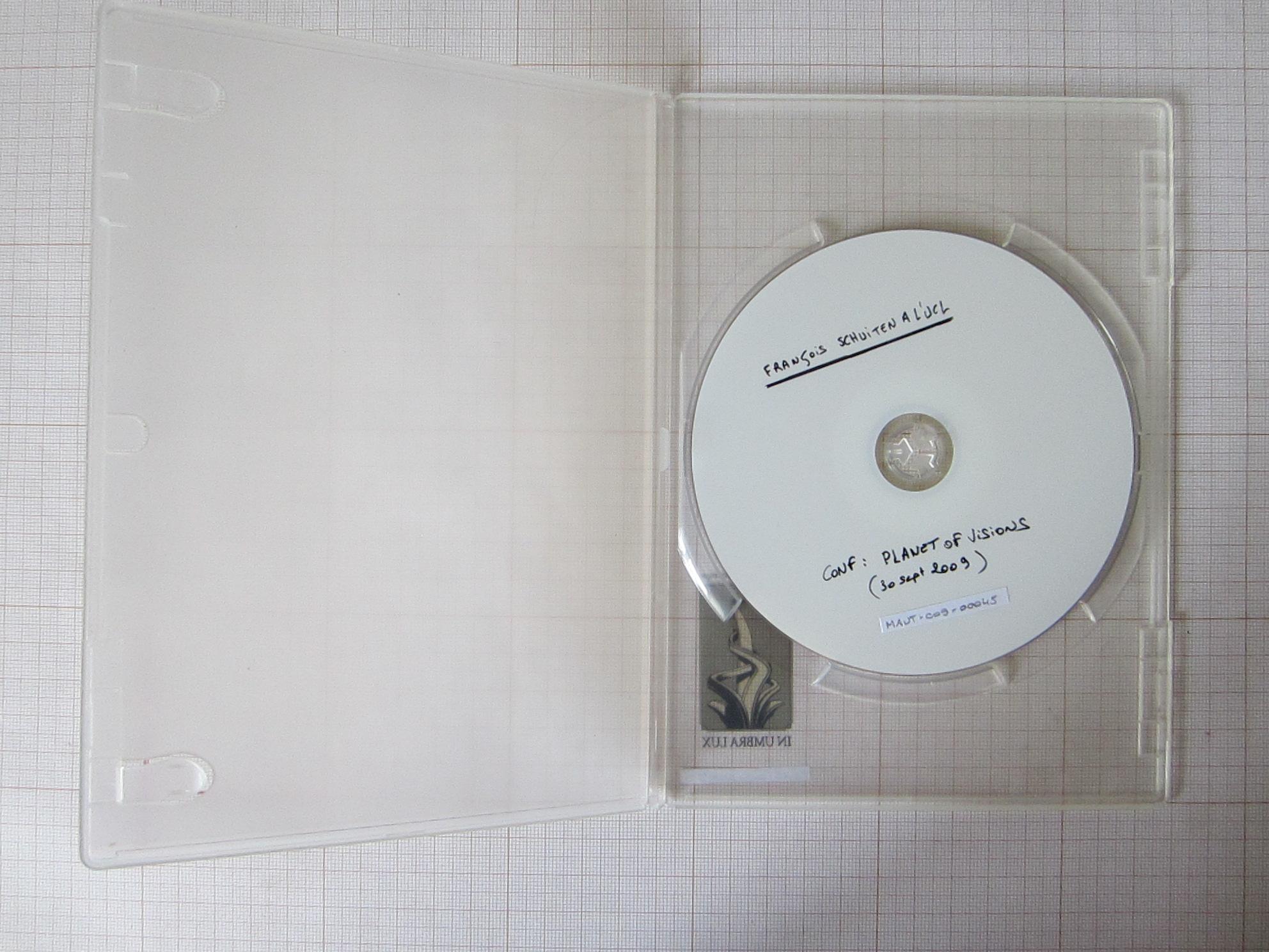 Cycle de conférences. François Schuiten à l'UCL : Planet of visions© Maison Autrique, 2009
