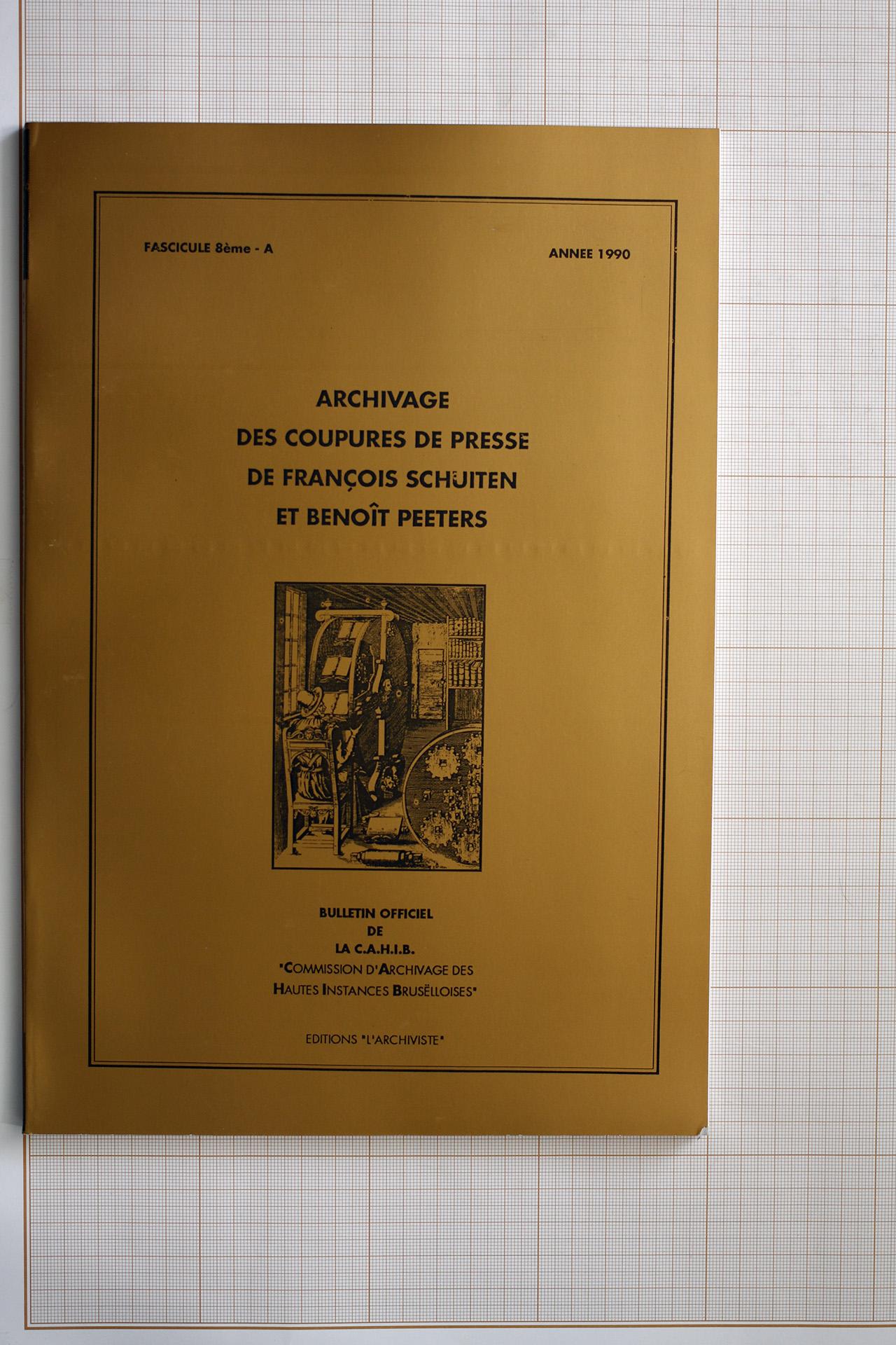 C.A.H.I.B - Fascicule 8ème - A© Philippe Blampain , 1992